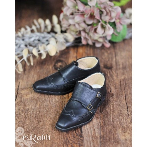 [Pre]1/3Boy SD13/SD17 Monk Shoes - RSH007 Black