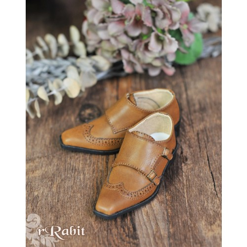 [Pre]1/3Boy SD13/SD17 Monk Shoes - RSH007 Caramel