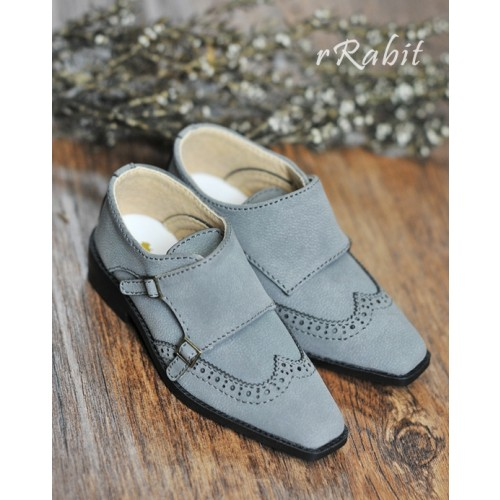 1/3Boy SD13/SD17 Monk Shoes - RSH007 BrushedGrey