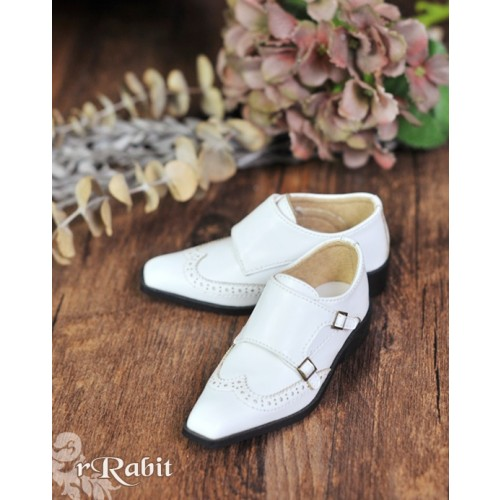 [Pre]1/3Boy SD13/SD17 Monk Shoes - RSH007 White