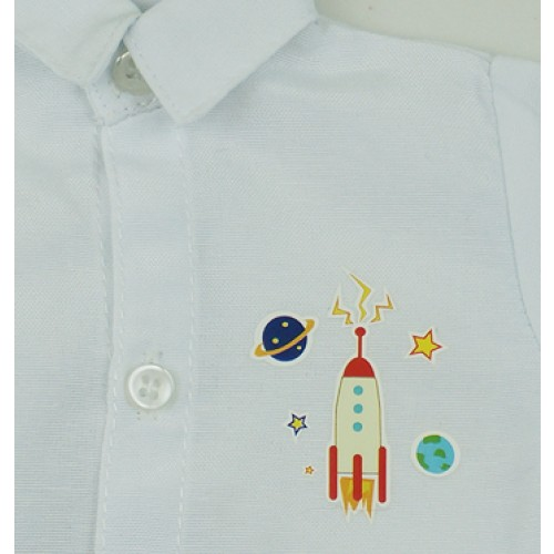 [Limited] 70cm up+ * Heat-Transfer shirt - RSP003 Rocket