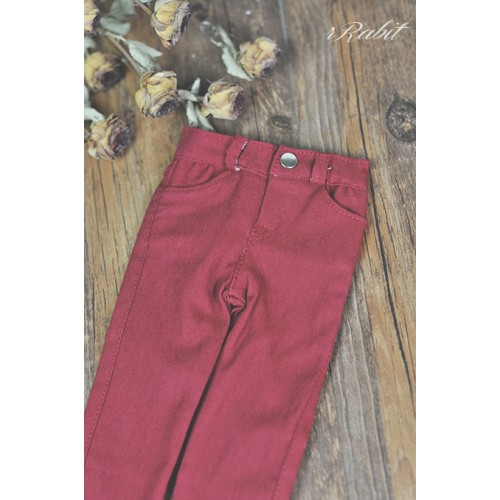 SD13/SD17 Elastic Fabic Pencil Pants * SH005 031