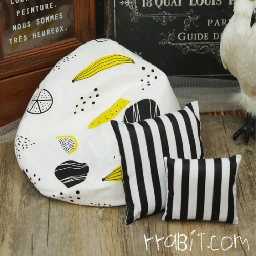 All size ★ Beanbag Sofa - Furit Draw +Cushion
