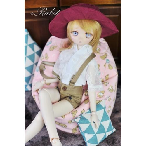 All size ★ Beanbag Sofa - Small Shiba Inu (Pink)