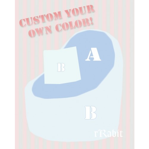 Sofa - [JellyBean]- Custom color - Your own Choice