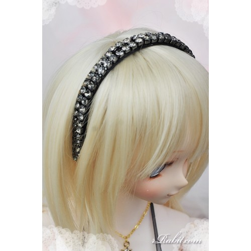 1/3 rRabit headband - Silver Stone RB171003