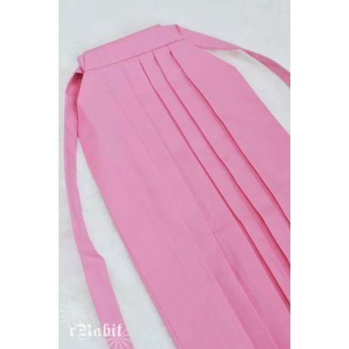 1/3 Hakama 行燈袴 (Japanese Bottom Dress) TS001 1706 (Pink)