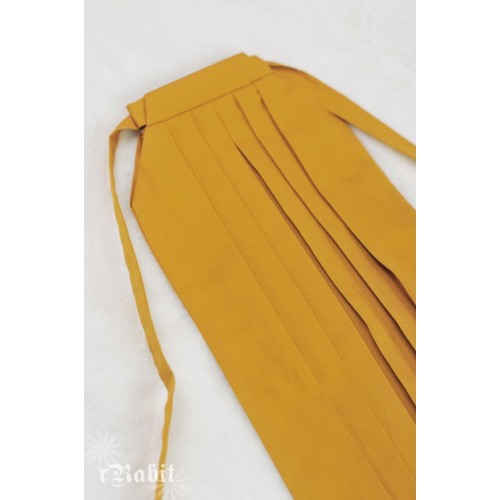 1/4 Hakama 行燈袴 (Japanese Bottom Dress) TS001 1709 (Mustard)