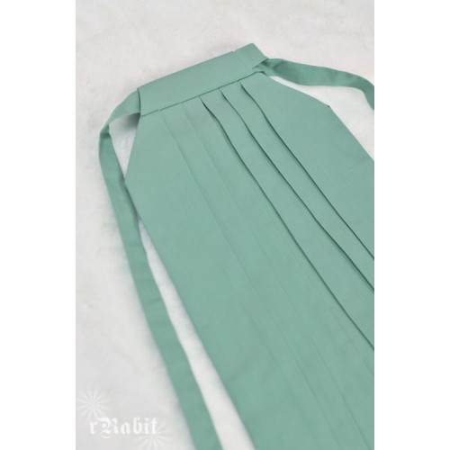 1/4 Hakama 行燈袴 (Japanese Bottom Dress) TS001 1712 (Lake Green)