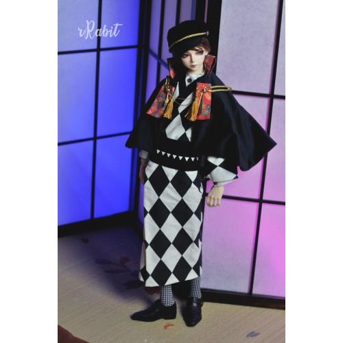 [Limited] 1/3Boy/SD17 - [斷花] - Kimono Set - Diamond