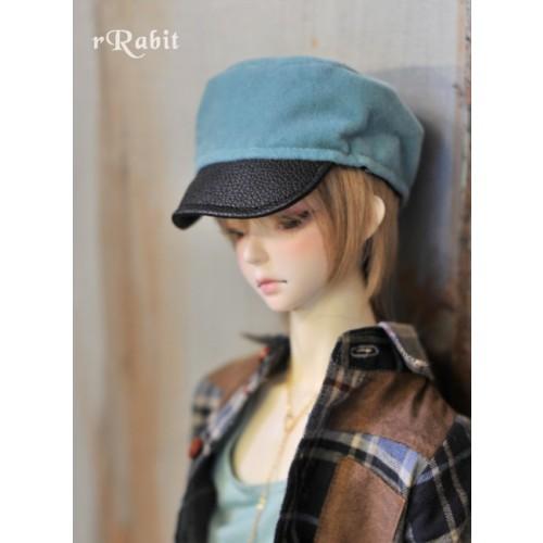 1/3 [Velvet Kepi Hat] AS005 004 (Lake Blue)