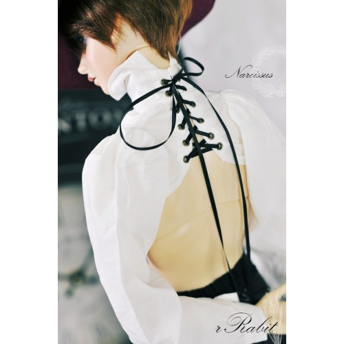 [1/3Boy/SD17] Narcissus Binding Shirt - BSC029 001 (off-white)