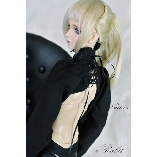 [1/3Boy/SD17] Narcissus Binding Shirt - BSC029 003 (Black)