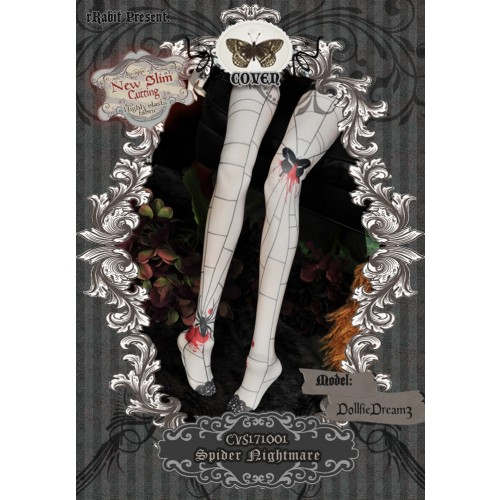 1/3 Socks - ♣COVEN♣ CVS171001 Spider nightmare ☆ (New Slim cutting)