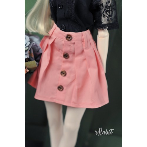 1/4 [Witchcraft Academic] - Paige Skirt - CVZ002 006(Peach)