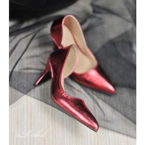 Queen's heels ✚1/4 HighHeels/MDD/AP/Minifee/Unoa [DA002] - Flash Red