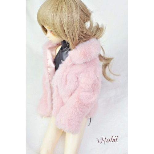 1/4 Sugar Fur Coat - DF003 1905 (Old Pink)