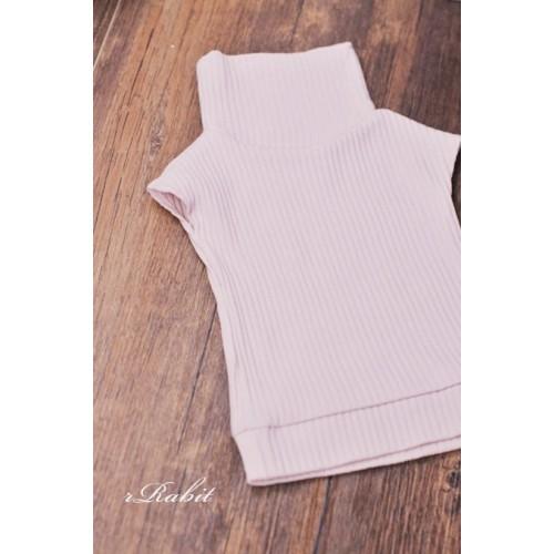 1/3 [Turtleneck sweater] HL042 1901 (Pink)