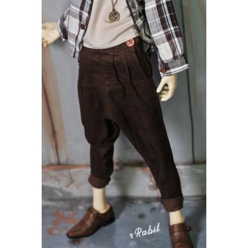 1/4 [Corduroy pants] - HL043 1905
