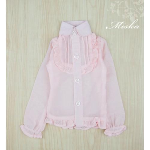 MISKA*1/3 Chiffon Lotus Shirt   - MSK010 002