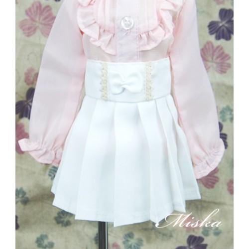 MISKA*1/4 High-waisted Pleated skirt - MSK012 001