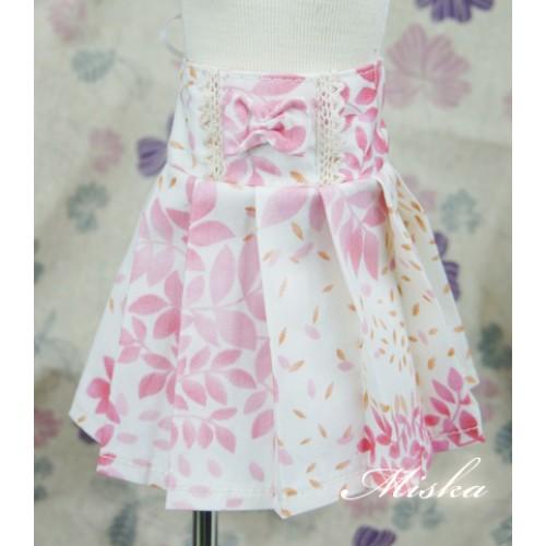 MISKA*1/4 High-waisted Pleated skirt - MSK012 008