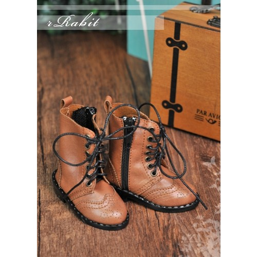 1/4 MSD MDD Rosie Holiday Antique Boots - RHL003 Yellow Brown