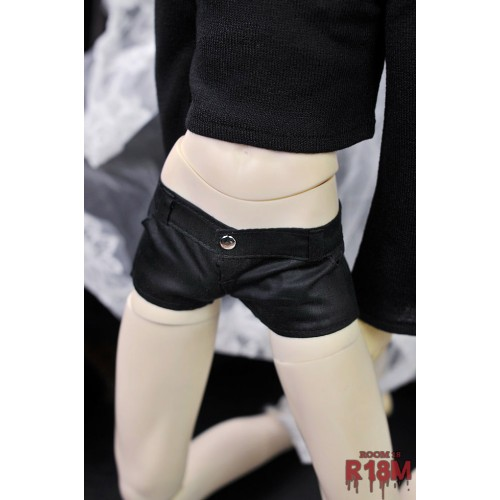 [R18M] 1/3Boy/SD17 Hot Short - RM010 003 (Cotton black)