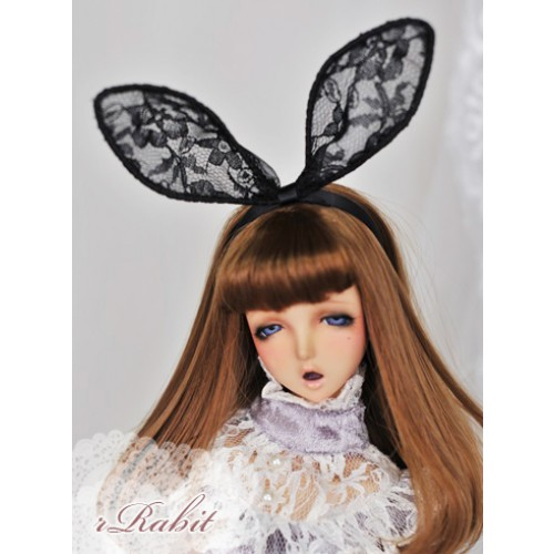 1/4 rRabit headband - Black (RB170401)