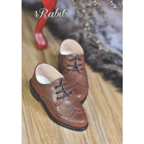 1/3Boy SD13/SD17 Classic Derby Shoes - RSH005 Carob