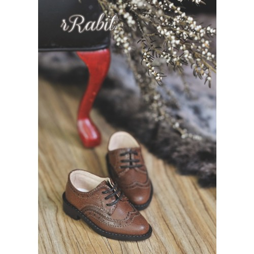 1/4 MSD/MDD Boy Classic Oxford Shoes - RSH005 Carob