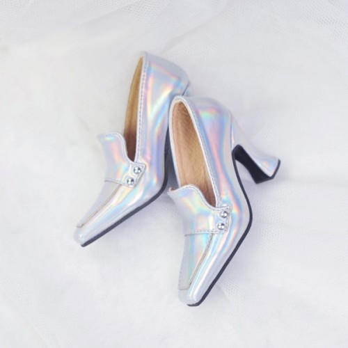 1/4 MSD MDD Angel Philia Fairyland Highheel Loafers - RSH006 Space Silver