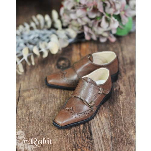 [Pre]1/3Boy SD13/SD17 Monk Shoes - RSH007 Carob