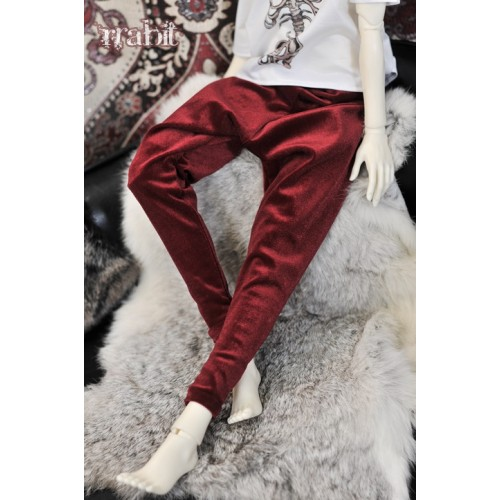 1/3 Gate One - Harem pants  SH035 1804 (Velvet Red)