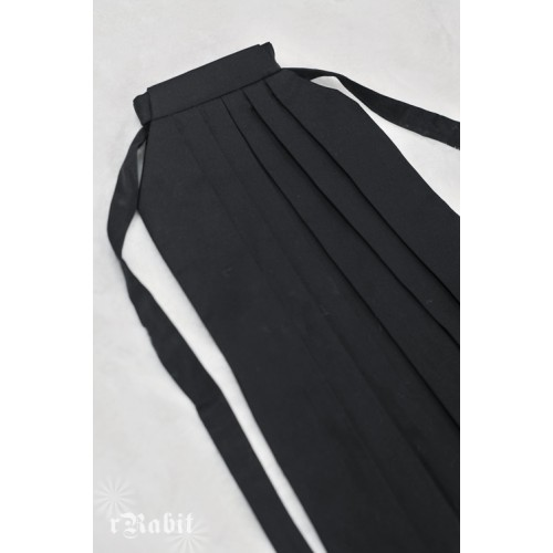 1/4 Hakama 行燈袴 (Japanese Bottom Dress) TS001 1702 (Black)
