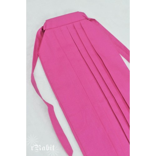 1/3 Hakama 行燈袴 (Japanese Bottom Dress) TS001 1705 (Fuchsia)