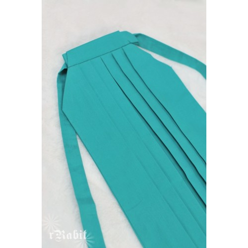 1/4 Hakama 行燈袴 (Japanese Bottom Dress) TS001 1711 (Turquoise)