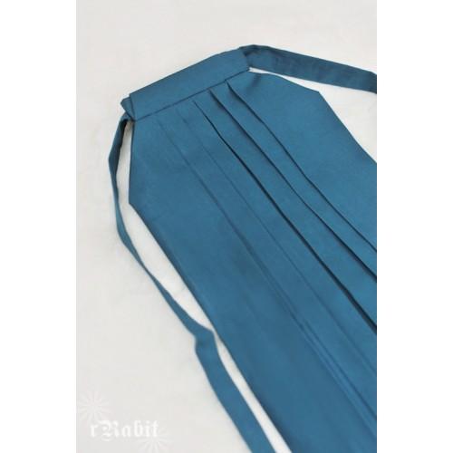 1/3 Hakama 行燈袴 (Japanese Bottom Dress) TS001 1715 (Turkish blue)