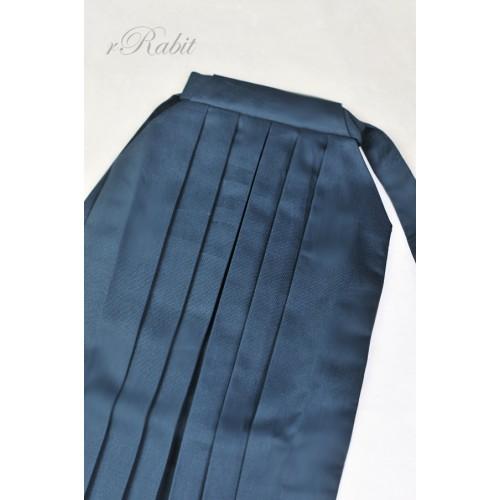 1/3 Hakama 行燈袴 (Japanese Bottom Dress) TS001 1717 (Grey Blue)
