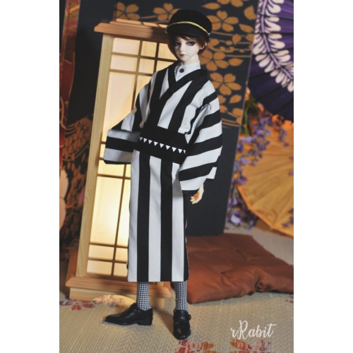 1/3Boy/SD17 Kimono - B&W Straight