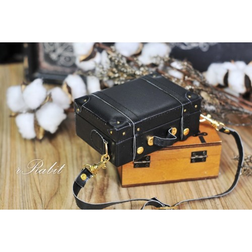 1/3 & 1/4 Suitcase -  Black