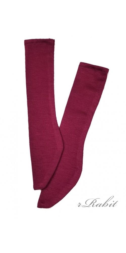 1/3 Boy short socks - AS003 005 (Raspberry)