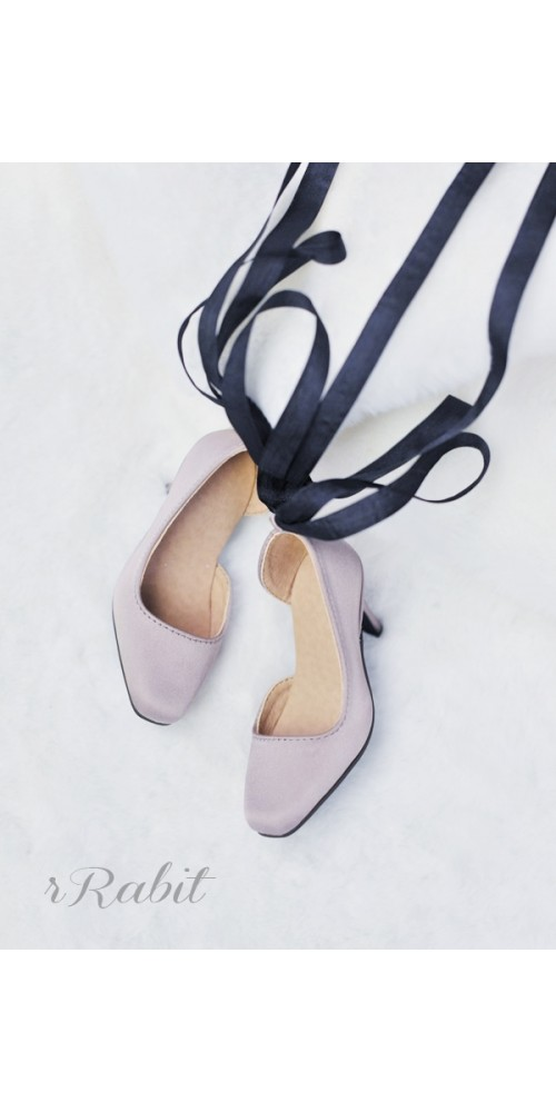 1/3Girl/SD10/13 Flatfeet /Ballet Mary Jane shoes[BLS007] Brown Grey
