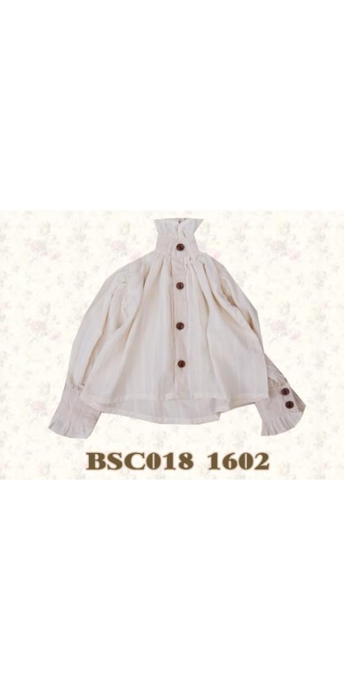 1/4 Benjament Shirt- BSC018 1602 (Tea dyed)