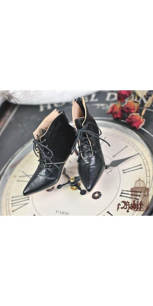[Pre]1/4 HighHeels/MDD/AP/Minifee/Unoa+ Pointed Toe Ankle Boots [Coven Three] - Dark Night