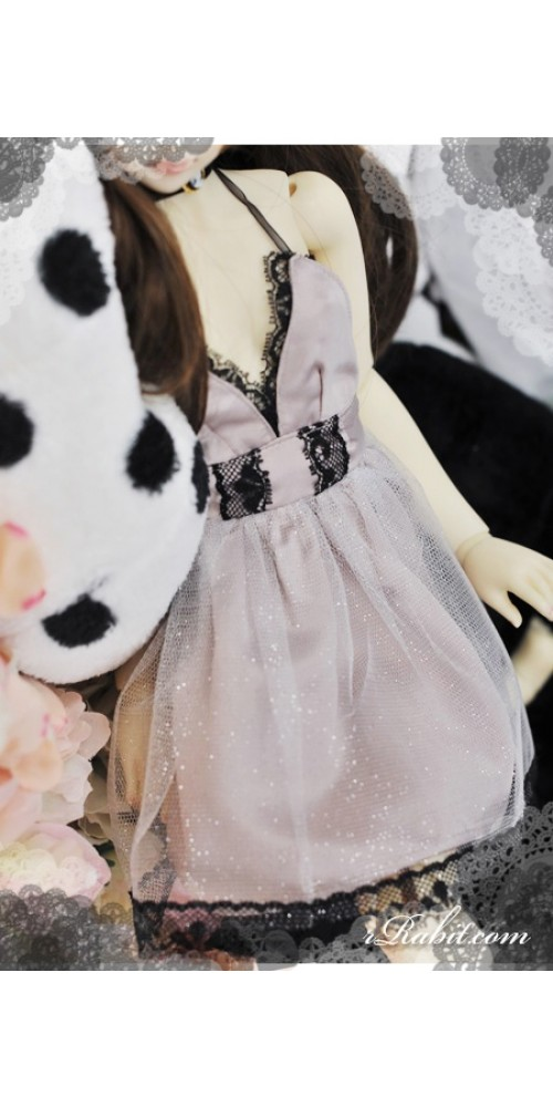 1/3 Lady Night Club Sexy Grand Dress - CP002 1704 (Grey Pink)