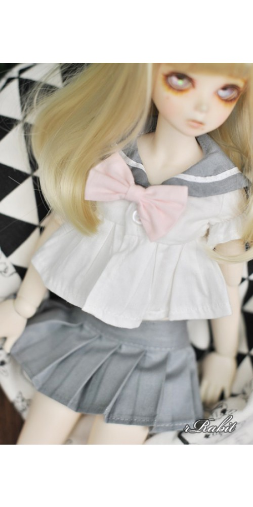1/3 Girl SD13/10 DD - Sailor Cute Dress Set - CP010 003 (Grey)