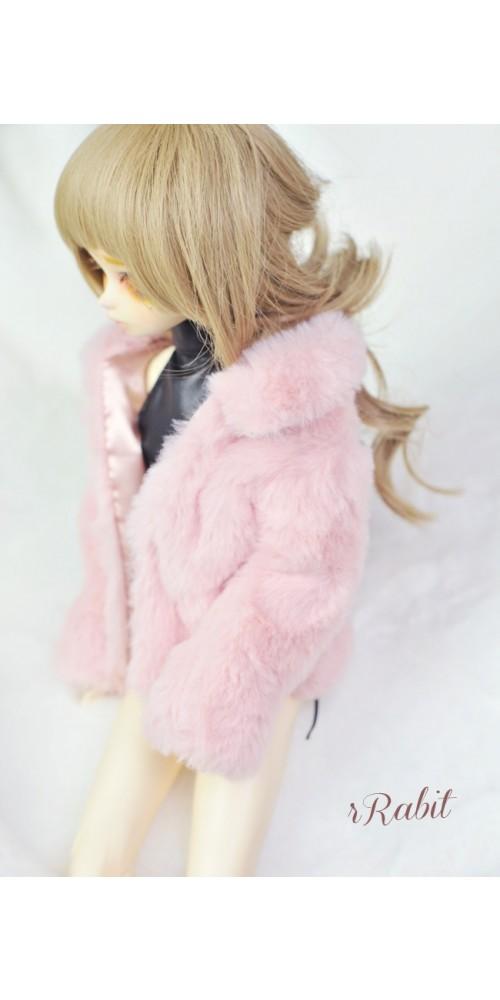 1/4 Sugar Fur Coat - DF003 1905 (Old Pink)