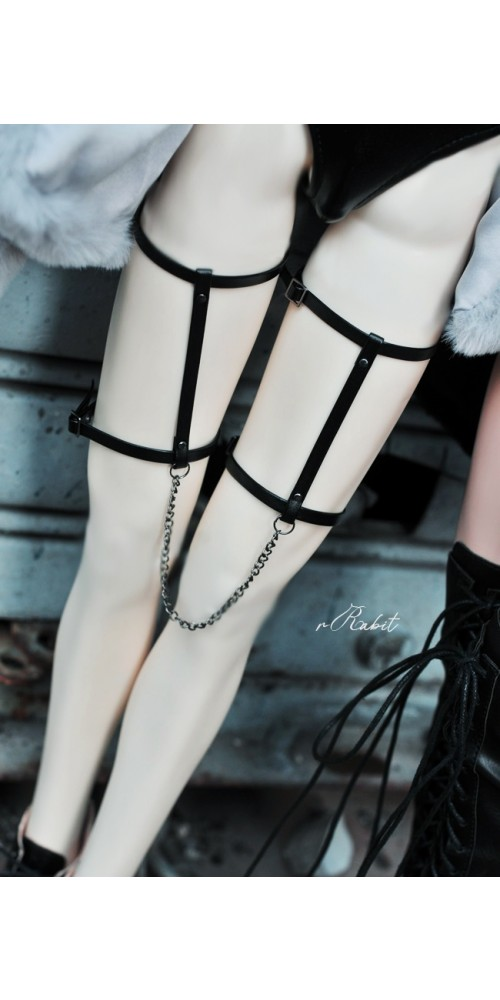 1/3 Thigh Chains - Leather accessory ZD007