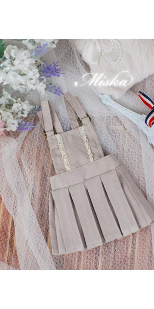 MISKA*1/3 Jumper  Pleated skirt - MSK032 006